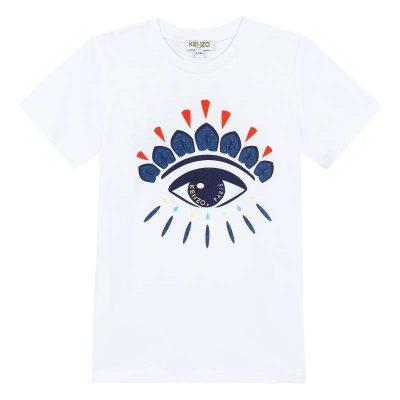 T-shirt occhio kenzo bambino