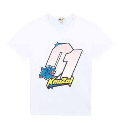 T-shirt racing kenzo bambina