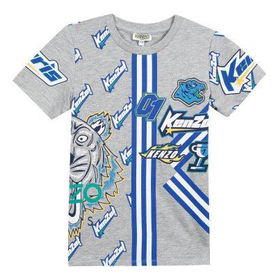 T-shirt racing kenzo bambino