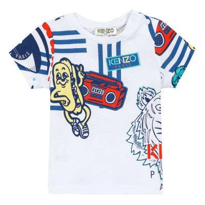 T-shirt stampe kenzo neonato