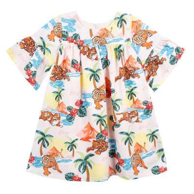 Vestito giungla kenzo bambina