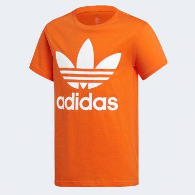T-shirt adidas bambino arancione