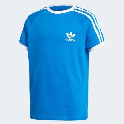 T-shirt adidas bambino azzurra