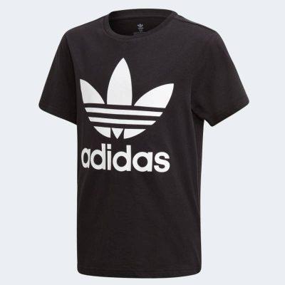 T-shirt adidas bambino nera