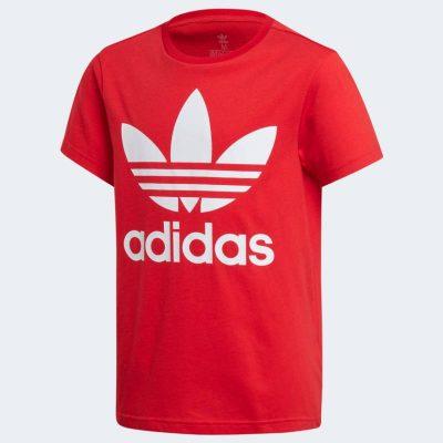 T-shirt adidas bambino rossa