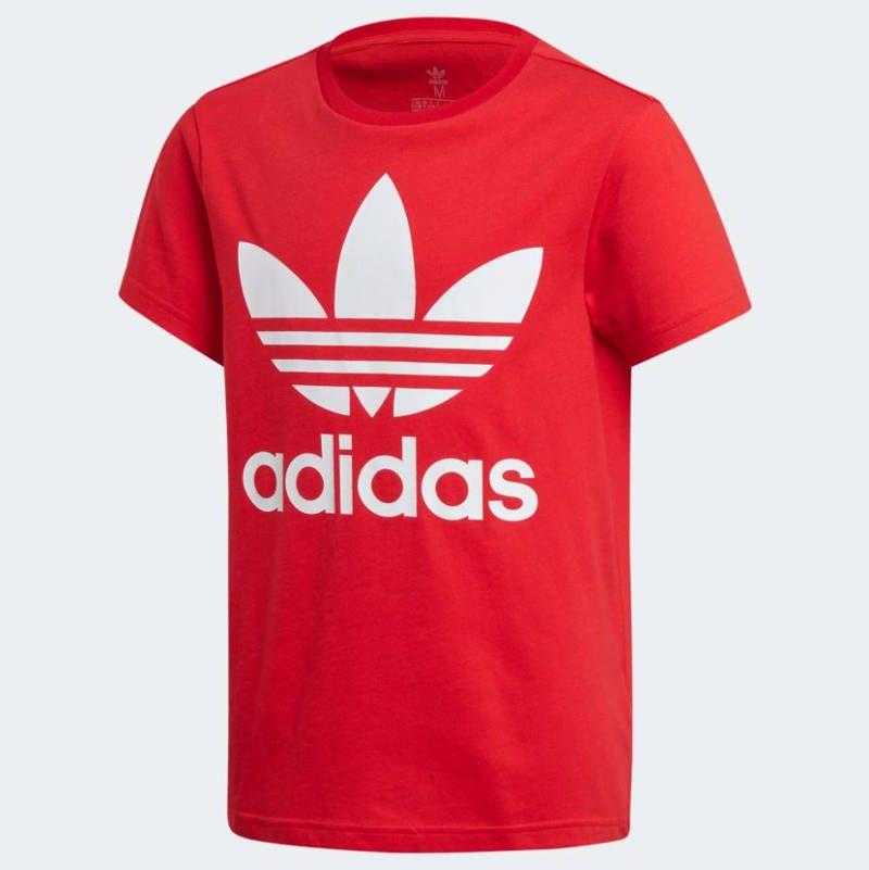 t shirt adidas rossa