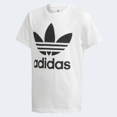 T-shirt adidas bambino bianca
