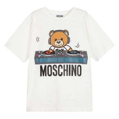 t-shirt orsetto moschino bambino