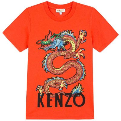 T-shirt drago kenzo bambino