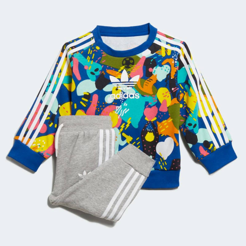abbigliamento neonata adidas
