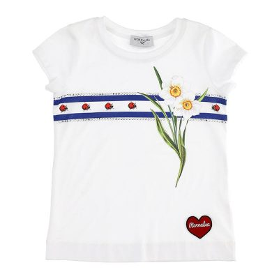 T-shirt coccinelle monnalisa
