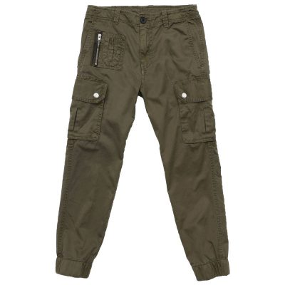 Pantalone verde diesel bambino