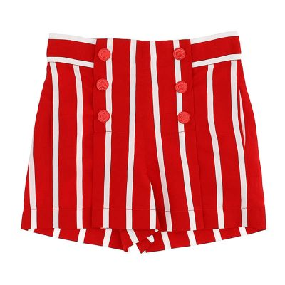 Shorts righe monnalisa