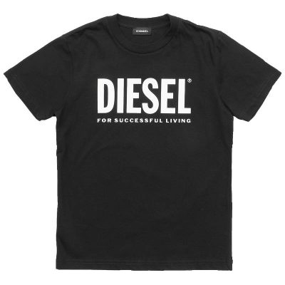 T-shirt nera diesel bambino