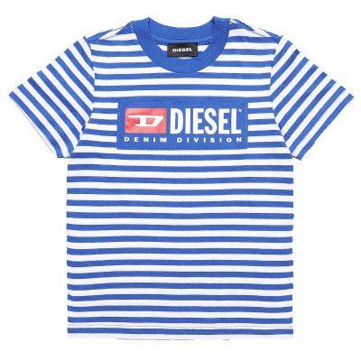 T-shirt righe diesel bambino