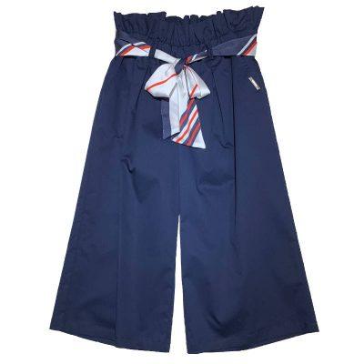 Pantalone blu msgm bambina