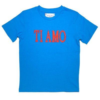 T-shirt ti amo Alberta Ferretti Junior