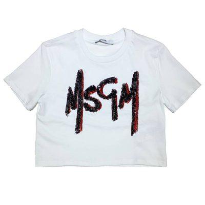 T-shirt corta msgm kids