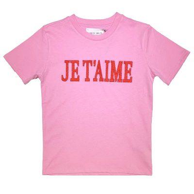 T-shirt rosa alberta ferretti bambina