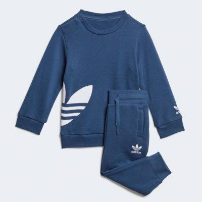 Tuta blu adidas neonato
