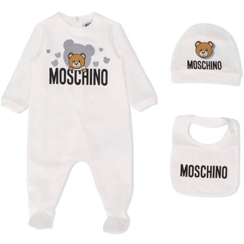 Tutina panna moschino neonato