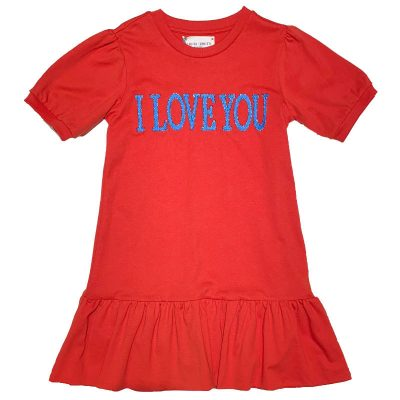 Vestito rosso Alberta Ferretti Junior