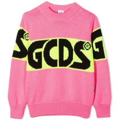 Maglione rosa gcds bambina