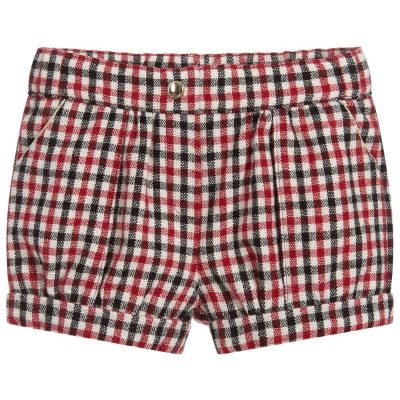 Shorts vichy chloe neonata