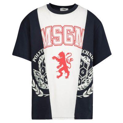 T-shirt leone msgm bambino