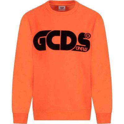 Felpa arancione gcds mini