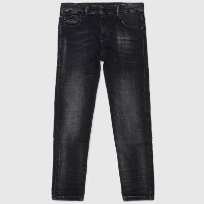 jeans nero diesel bambina