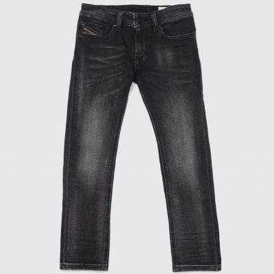 jeans nero diesel bambino