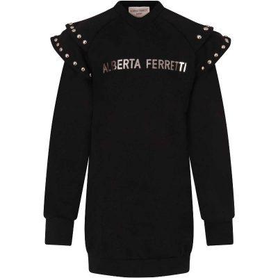 Vestito felpa Alberta Ferretti bambina