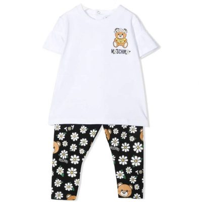 Completo margherite moschino baby