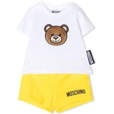 Completo orsetto moschino baby