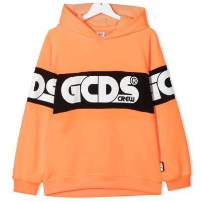 Felpa arancione gcds kids