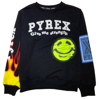 Felpa smile pyrex kids