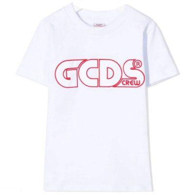 T-shirt bianca gcds