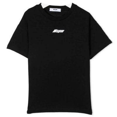 T-shirt logo bambino msgm