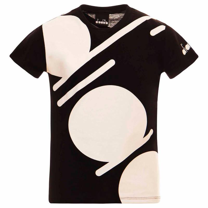 T-shirt logo diadora bambino
