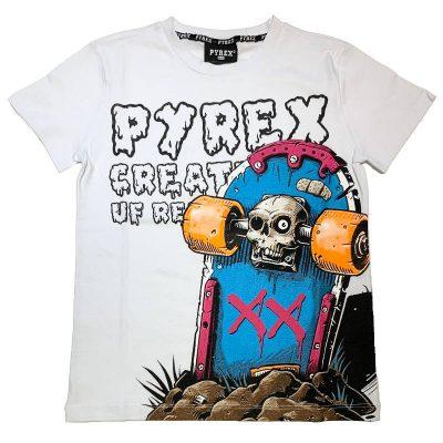 T-shirt skate pyrex bambino