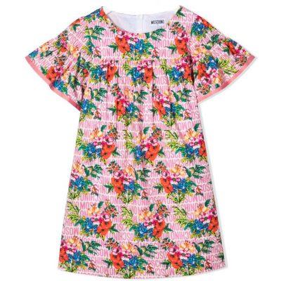 Vestito fiori moschino bambina