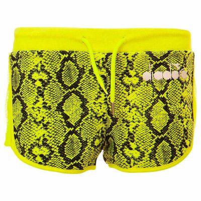 Shorts giallo diadora bambina