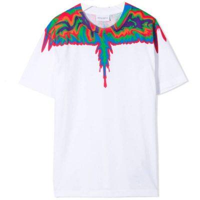 T-shirt bianca bambino marcelo burlon