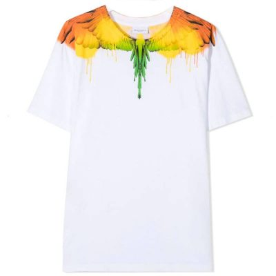 T-shirt bianca marcelo burlon bambino