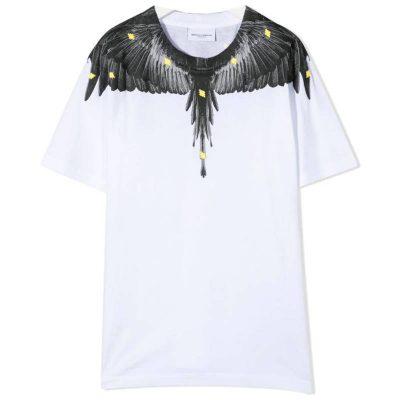 T-shirt bianca marcelo burlon kids