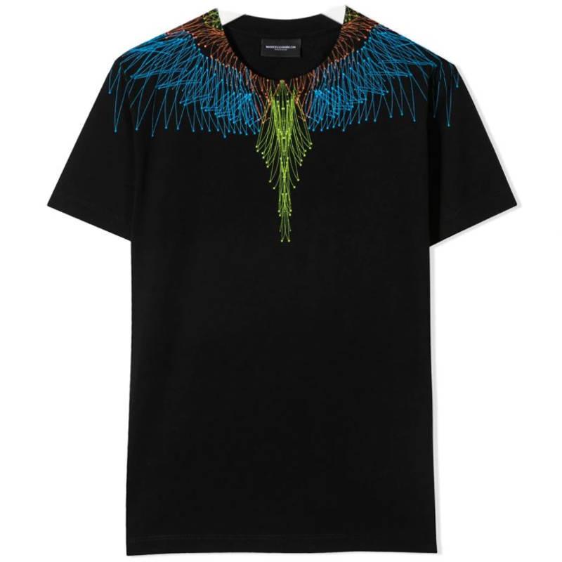 T-shirt nera marcelo burlon bambino