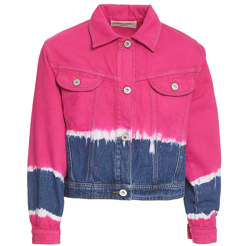 Giubbino jeans alberta ferretti junior
