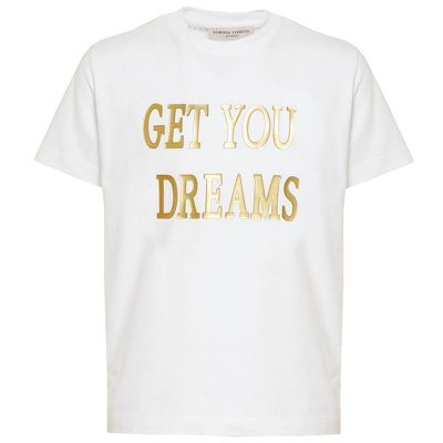 T-shirt bianca alberta ferretti junior