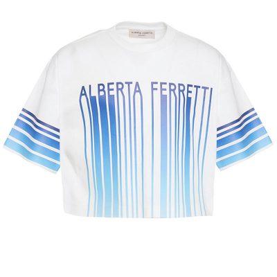 T-shirt corta alberta ferretti bambina
